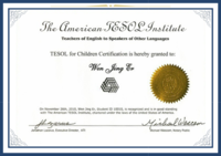 TESOL for Children Program