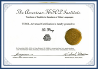 TESOL Advanced Program